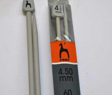Agujas pony 60cm0